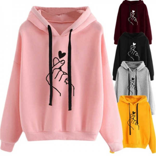 New Women Hoodies For Spring Autumn Sweatershirt Female 2019 Drop Shipping