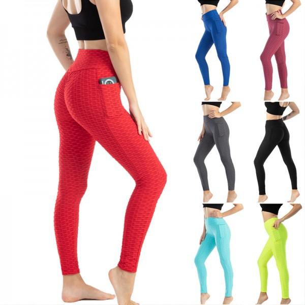 Women High Waist Fitness Work Out Leggins Gym Sexy Legging Anti Cellulite Sport Leggins