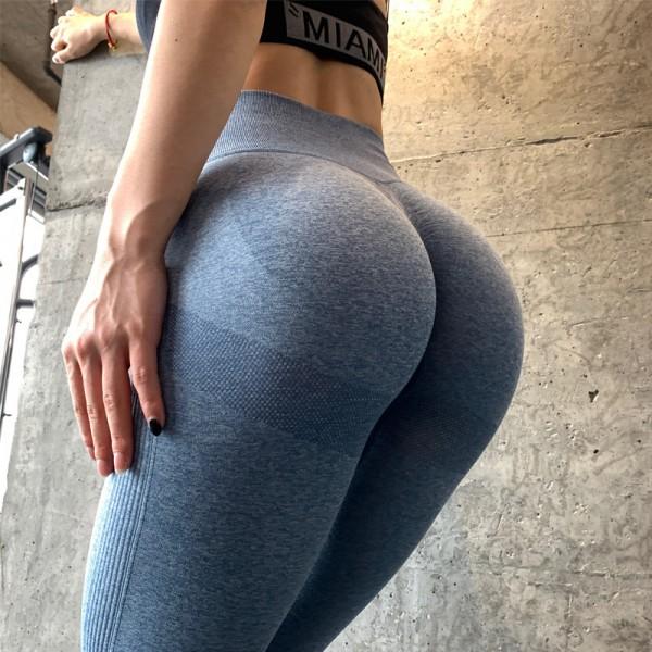 High Waist Seamless Leggings Sport Women Fitness Running Gym Pants