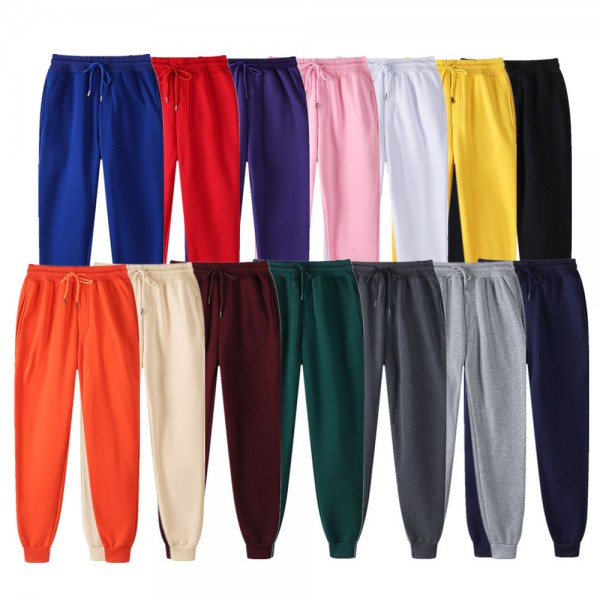 Woman Trousers Casual Pants Sweatpants Jogger Casual Fitness Workout Sporting Clothing