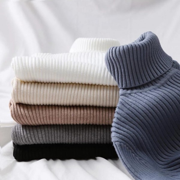 Women Autumn Winter Tops Thick Slim Women Pullover Knitted Sweater